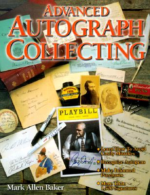 Image for Advanced Autograph Collecting