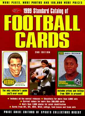 Image for 1999 STANDARD CATALOG OF FOOTBALL CARDS