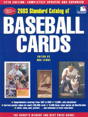 Image for 2003 Standard Catalog of Baseball Cards (12th Edition)
