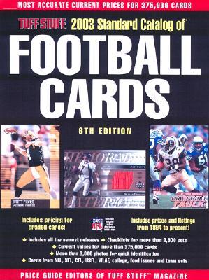 Image for TUFF STUFF  Catalog of Football Cards (2003)