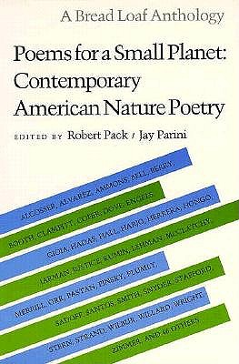 Image for Poems for a Small Planet: Contemporary American Nature Poetry (Bread Loaf Anthology)