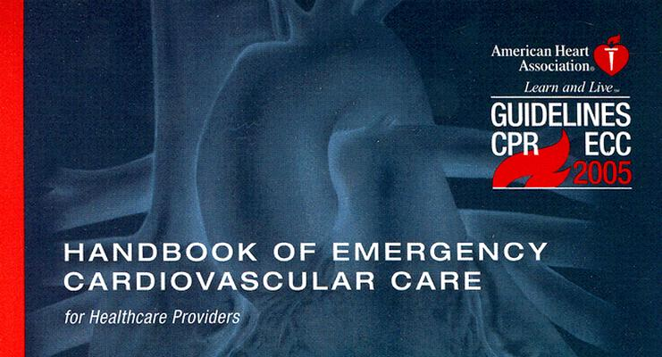 Image for Handbook Of Emergency Cardiovascular Care: For Hea