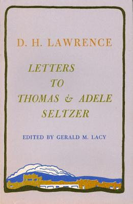 Image for LETTERS TO THOMAS AND ADELE SELTZER