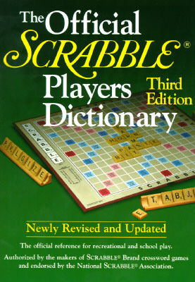 Image for OFFICIAL SCRABBLE PLAYERS DICTIONARY THIRD EDITION