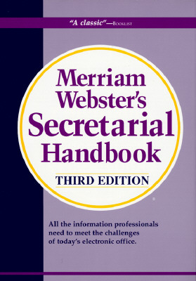 Image for MERRIAM-WEBSTER'S SECRETARIAL HANDBOOK