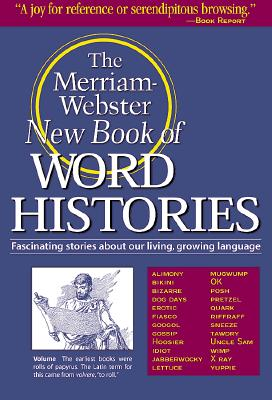 Image for The Merriam-Webster New Book of Word Histories