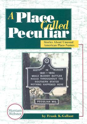 Image for A place called Peculiar