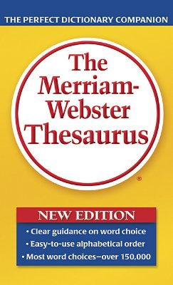 Image for MERRIAM WEBSTER THESAURUS