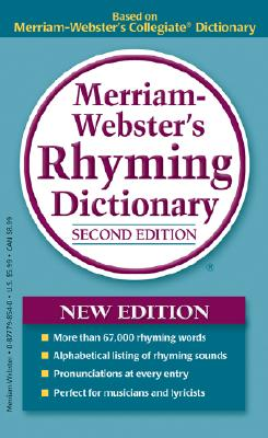 Image for Merriam-Webster's Rhyming Dictionary, New Second Edition, mass-market paperback