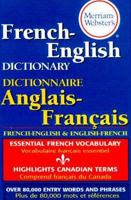 Image for Merriam-Webster's French-English Dictionary
