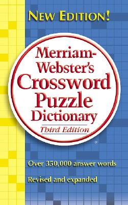 Image for CROSSWORD PUZZLE DICTIONARY THIRD EDITION