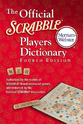 OFFICIAL SCRABBLE PLAYERS DICTIONARY, MERRIAM WEBSTER