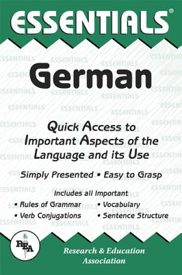 The Essentials of German (Rea's Language Series), Linda Thomas, Research & Education Association