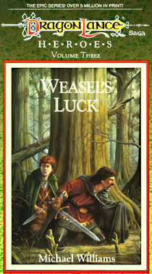 Image for WEASEL'S LUCK (Dragonlance: Heroes)
