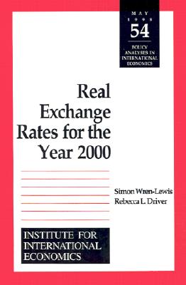 Image for Real Exchange Rates for the Year 2000 (Policy Analyses in International Economics)