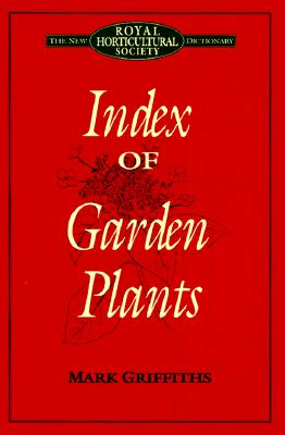 Image for Index of Garden Plants: The New Royal Horticultural Society Dictionary