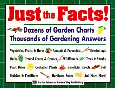 Image for Just the Facts!: Dozens of Garden Charts, Thousands of Gardening Answers