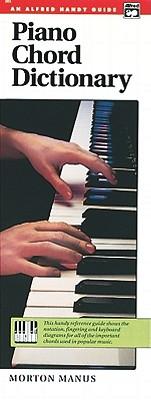 Piano Chord Dictionary: Handy Guide, Manus, Morton