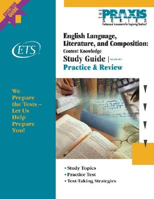 Image for English Language, Literature, and Composition: Content Knowledge Study Guide (Praxis Study Guides)