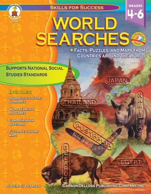 Image for World Searches, Grades 4 - 6 (Skills for Success)