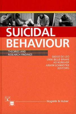 Image for Suicidal Behavior: Theories and Research Findings