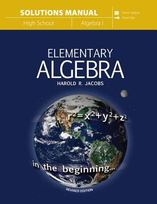 Image for Elementary Algebra (Solutions Manual)