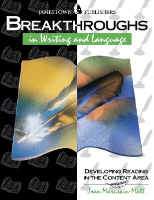 Image for Breakthroughs in Writing and Language : Developing Writing and Language Skills