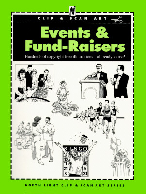 Image for Events & Fund Raisers (North Light Clip & Scan Art)