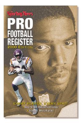 Image for SPORTING NEWS 2000 PRO FOOTBALL REGISTER