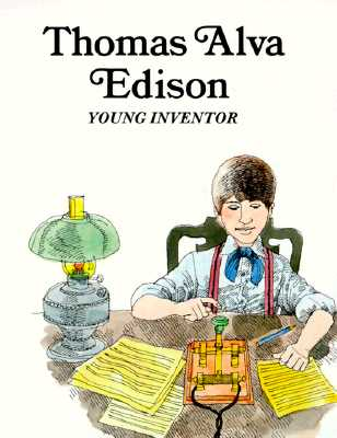 Image for Thomas Alva Edison : Young Inventor (Easy Biographies)