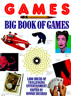 Games Magazine Big Book of Games, Shushan, Ronnie
