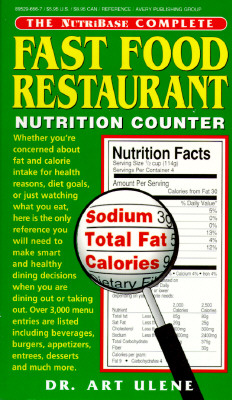 Image for The NutriBase Complete Fast Food Restaurant Nutrition Counter (NutriBase)