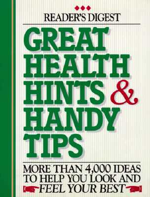 Image for GREAT HEALTH HINTS & HANDY TIPS