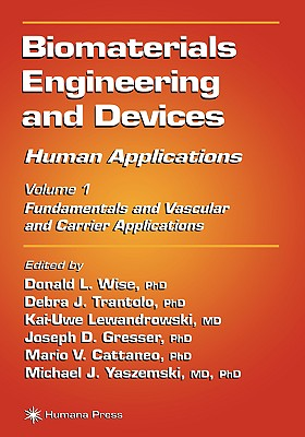 Biomaterials Engineering and Devices: Human Applications: Volume 2. Orthopedic, Dental, and Bone Graft Applications
