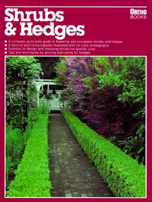 Image for Shrubs and Hedges