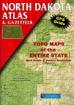 North Dakota Atlas and Gazetteer (Delorme Atlas and Gazetteer Series), DeLorme Mapping Company; Publishing, Delorme