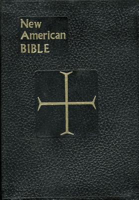 Saint Joseph New American Bible/Black Imitation Leather/ Large Print/      No.611/10B, Saint Joseph