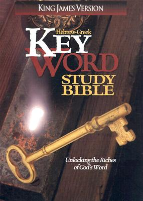 Image for Hebrew-Greek Key Word Study Bible (King James Version, Bonded Leather, Burgundy)