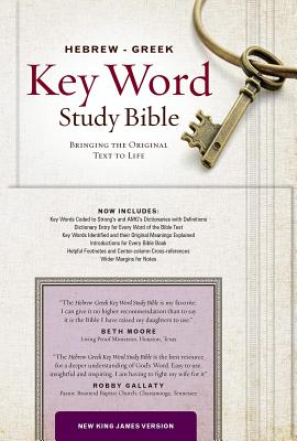 Image for Hebrew-Greek Key Word Study Bible: New King James Version (Key Word Study Bibles)