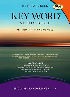 Image for Hebrew-Greek Key Word Study Bible: ESV Edition, Genuine Leather Black (Key Word Study Bibles)
