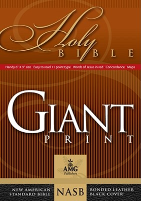 Image for Giant Print Handy-Size Reference Bible: NASB 1977 Edition (AMG Giant Print Handy-Size Bibles)