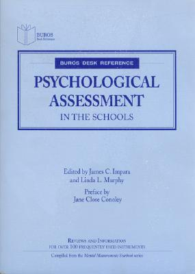 Image for Psychological Assessment in the Schools (Buros Desk Reference)