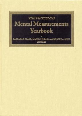 Image for The Fifteenth Mental Measurements Yearbook (Buros Mental Measurements Yearbook)
