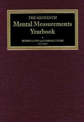 Image for The Sixteenth Mental Measurements Yearbook (Buros Mental Measurements Yearbook)