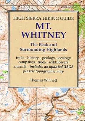Image for MT. WHITNEY : HIGH SIERRA HIKING GUIDE