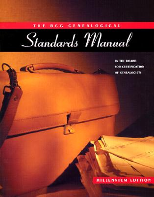 Bcg Genealogical Standards Manual, NOT AVAILABLE (NA)