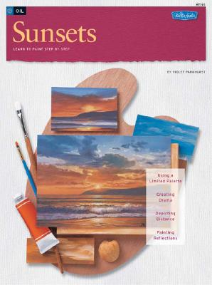 How to Draw And Paint Ocean Sunsets, Violet Parkhurst