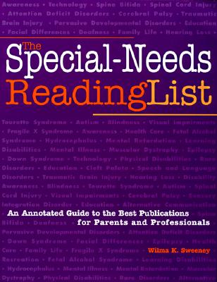 Image for The Special Needs Reading List Annotated GD Best Pub for Parents & Professionals (Special-Needs Collection)