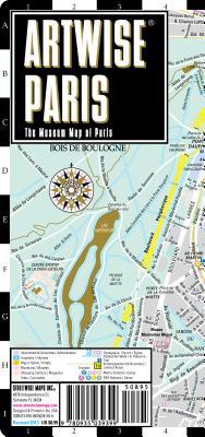 Image for Artwise Paris Museum Map - Laminated Museum Map of Paris, FR