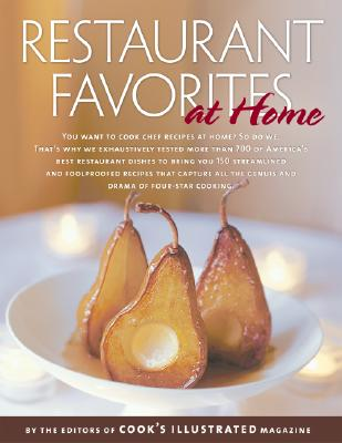 Image for RESTAURANT FAVORITES AT HOME